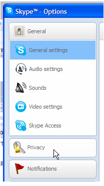 Transparent Custom Skype Status Buttons