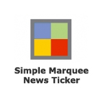 Simple Marquee News Ticker